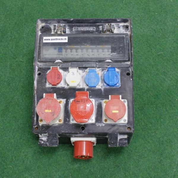 Steckdosenverteiler mit CEE 32 Einspeisung