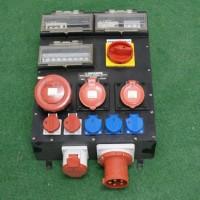 Steckdosenverteiler mit CEE 63 Einspeisung und Abgang