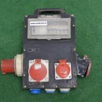 Steckdosenverteiler mit CEE 63 Einspeisung und CEE 63 Abgang