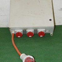Steckdosenverteiler mit CEE 63 oder CEE 125 Einspeisung